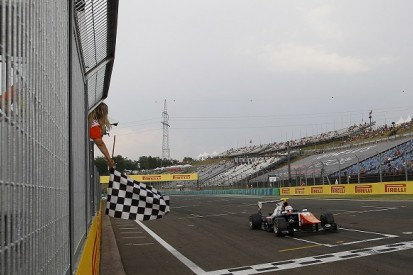 Hungary GP3: Luca Ghiotto claims commanding victory in race one