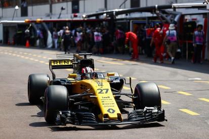 Nico Hulkenberg: Renault two steps behind after Monaco GP practice