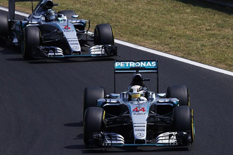 Hungarian GP FP3: Lewis Hamilton marginally ahead of Nico Rosberg