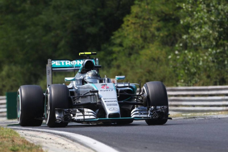 Nico Rosberg 'all over the place' in Hungarian GP qualifying