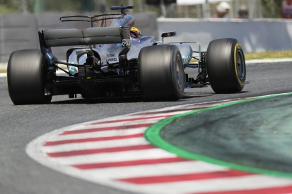 Lewis Hamilton finding 2017 Mercedes F1 car difficult to drive