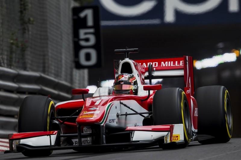 Monaco Formula 2: Ferrari junior Charles Leclerc fastest for Prema
