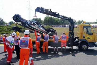 Force India F1 team unsure of cause of Sergio Perez's crash