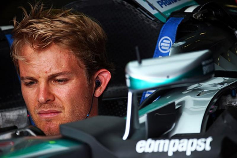 Hungarian GP: Nico Rosberg chasing his tail in F1 practice