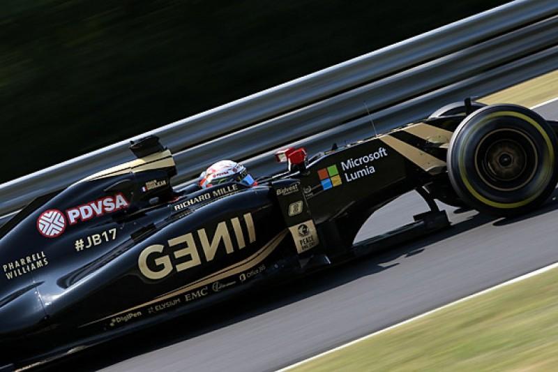 Financial uncertainty holding Lotus F1 team back - Romain Grosjean