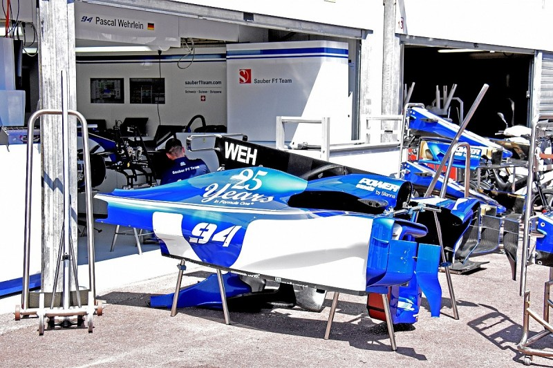 Sauber F1 team completes delayed upgrade package for Monaco GP