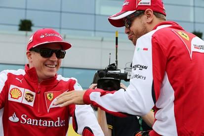 Raikkonen hasn't lost it, says Ferrari Formula 1 team-mate Vettel