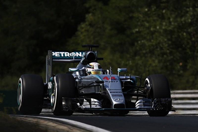 Hungarian GP: Lewis Hamilton fastest, Sergio Perez rolls in F1 FP1