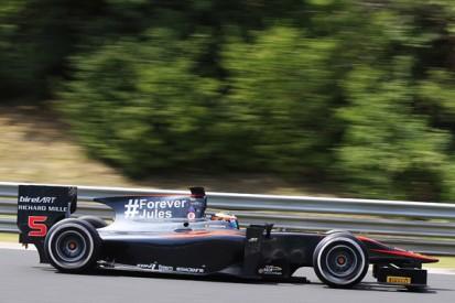 McLaren F1's Stoffel Vandoorne fastest in GP2 Hungary practice