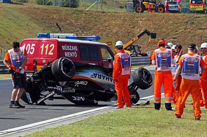Hungarian GP: Force India withdraws from FP2 after Perez crash