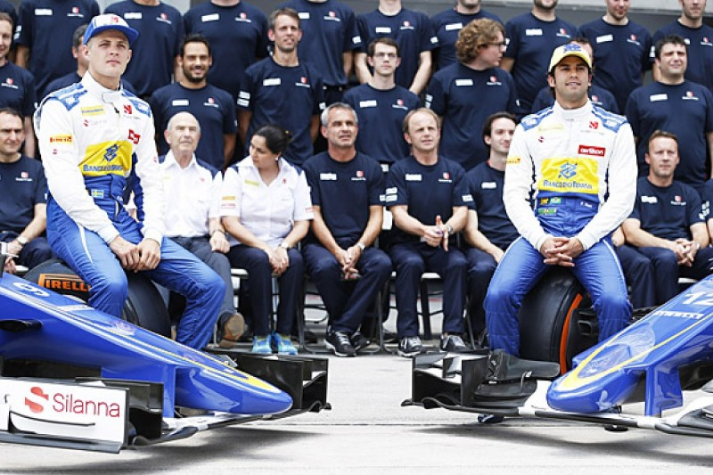 Sauber F1 team retains Nasr and Ericsson for 2016
