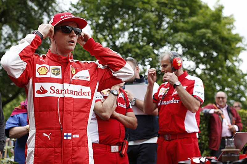 Kimi Raikkonen says he wants to stay with Ferrari in F1 in 2016