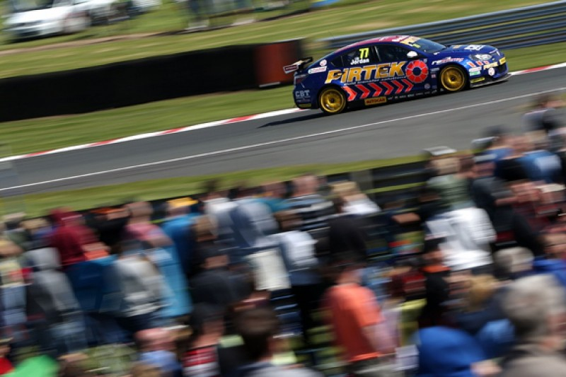 Andrew Jordan commits to BTCC until end of 2018 with new deal