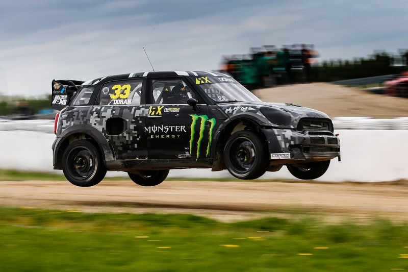 Mikko Hirvonen to test World RX Mini at Silverstone circuit launch