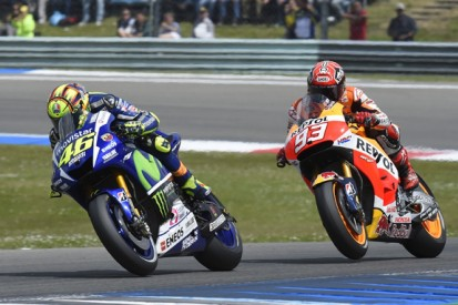 Ruling Marquez out of MotoGP title fight would be 'stupid' - Rossi