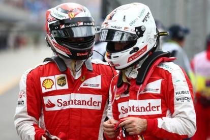 Kimi Raikkonen as fast as F1 team-mate Sebastian Vettel - Ferrari