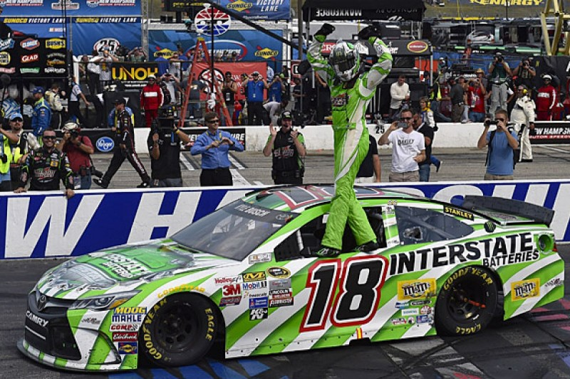 Kyle Busch surprised by his mid-season NASCAR Cup form