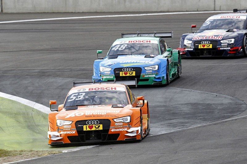 Audi chief wary of 'block' results in 2015 DTM