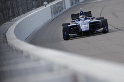 Iowa IndyLights: Ex-F1 racer Max Chilton takes first victory