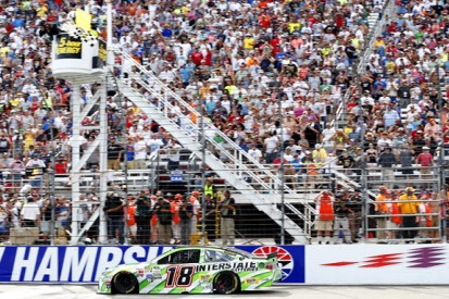 New Hampshire NASCAR: Kyle Busch makes it three wins from four