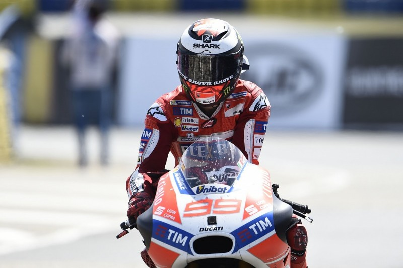 Jorge Lorenzo saved 'difficult situation' for Ducati at Le Mans