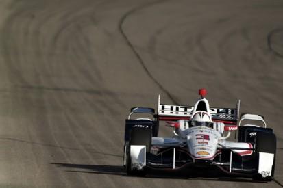 Iowa IndyCar: Penske's Helio Castroneves takes pole position