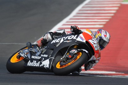 Honda racers Marquez and Pedrosa test 2016 MotoGP prototype