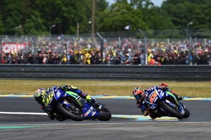 Rossi felt 'a little cheated' by Vinales in Le Mans MotoGP battle