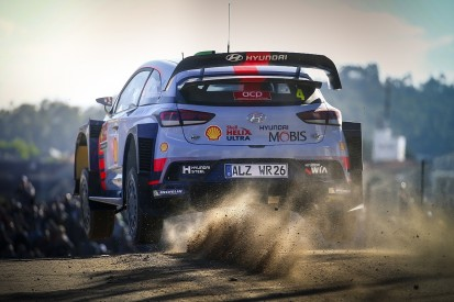 Hyundai's Paddon says WRC career low over after Portugal progress