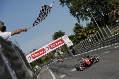Gunther wins European F3's Pau Grand Prix after Norris crash