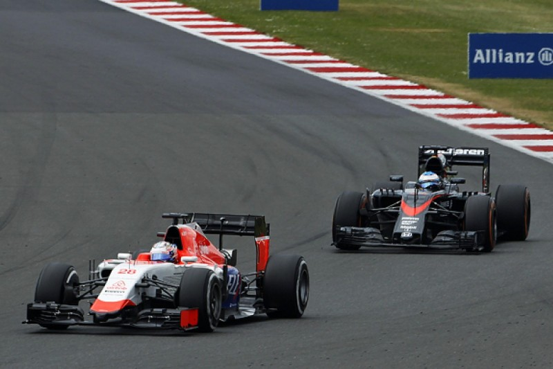 Racing penalised cars a balancing act, says Manor F1's Will Stevens