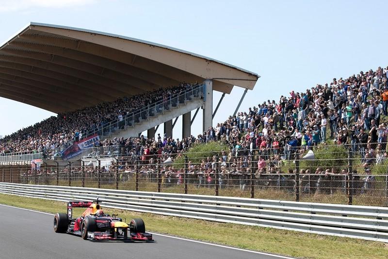 Max Verstappen breaks Zandvoort lap record in Red Bull F1 demo
