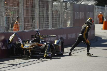 Suspected steering rack failure caused Vergne's Paris ePrix crash