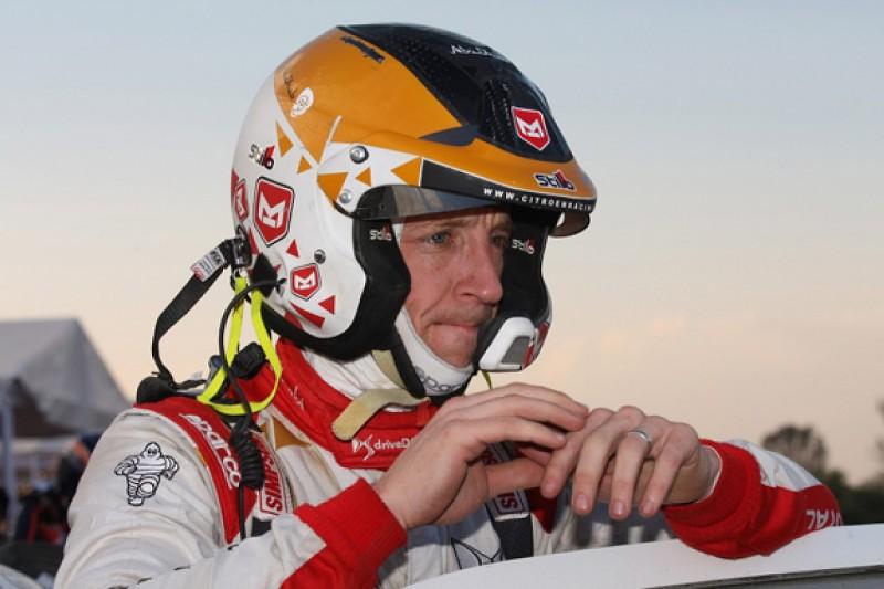 Kris Meeke's Citroen World Rally Championship future in jeopardy