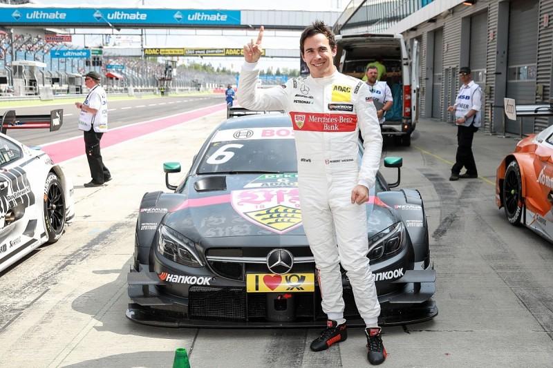 Lausitzring DTM: Robert Wickens denies Tom Blomqvist pole