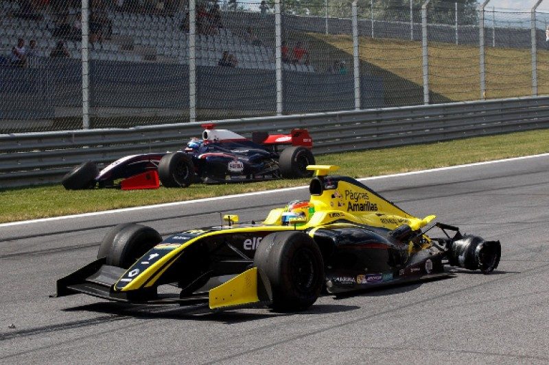 Red Bull Ring FR3.5: Exclusion 'excessive' - F1 racer Roberto Merhi