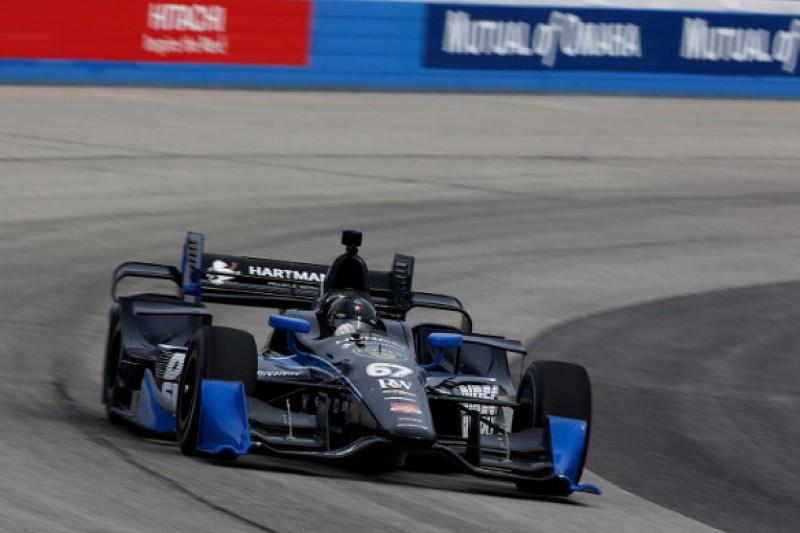 Milwaukee IndyCar: Josef Newgarden stays on top in second practice