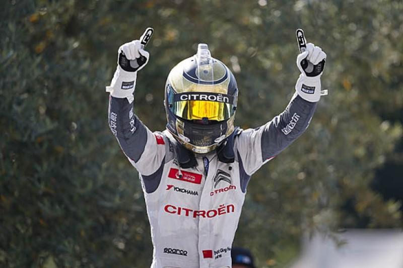 WTCC Vila Real: Citroen's Ma Qing Hua wins red-flagged race two