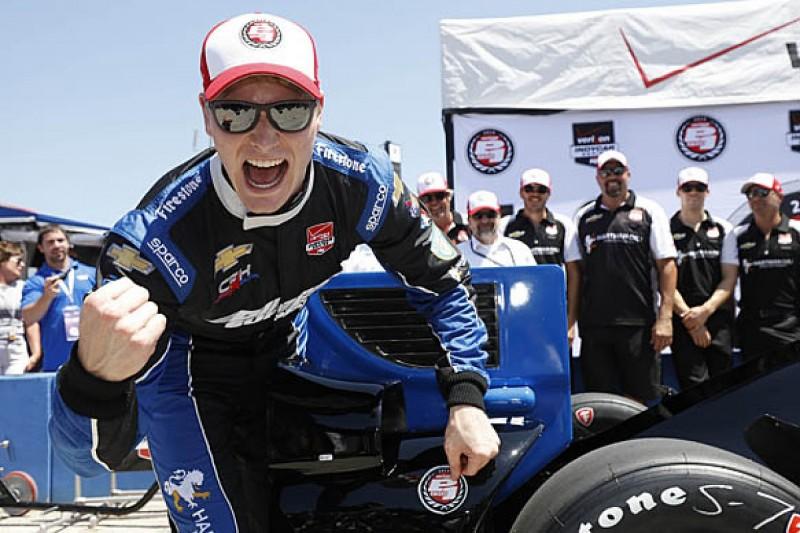 Milwaukee IndyCar: CFH's Josef Newgarden takes first pole