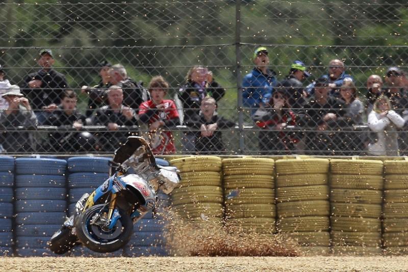 Lorenzo: Miller's Le Mans MotoGP practice crash a warning from God