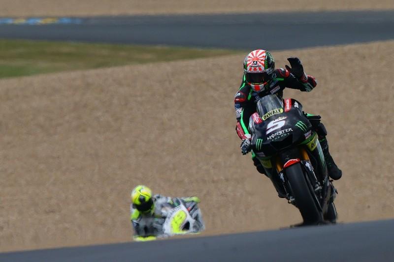 Rossi: 'Big surprise' Zarco can fight for Le Mans MotoGP win