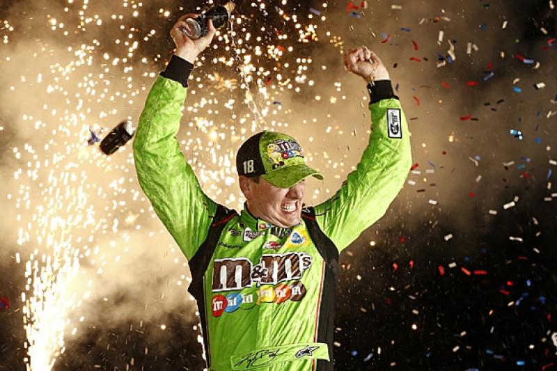 Kentucky NASCAR: Kyle Busch wins again for Joe Gibbs Racing
