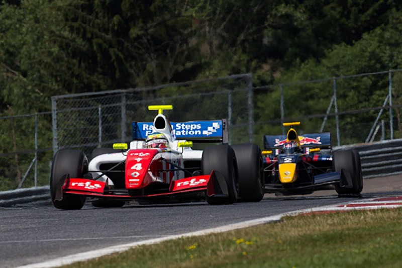 Red Bull Ring FR3.5: Rowland dominant, F1 racer Merhi in huge crash