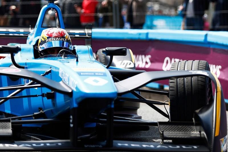 Paris Formula E: Buemi pips Vergne to pole, di Grassi in midfield