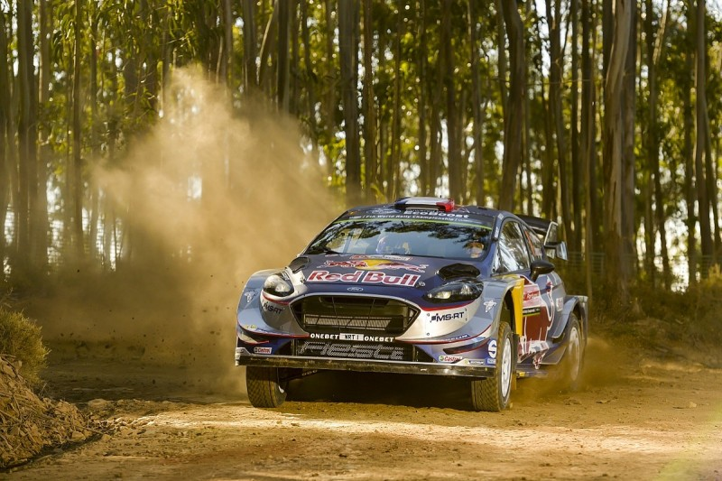 WRC Rally of Portugal: Ogier takes lead as Tanak hits trouble