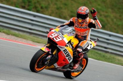 Sachsenring MotoGP: Marc Marquez dominates in Honda 1-2 finish