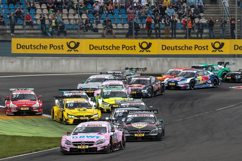 DTM Lausitzring: Championship leader Auer extends lead with victory