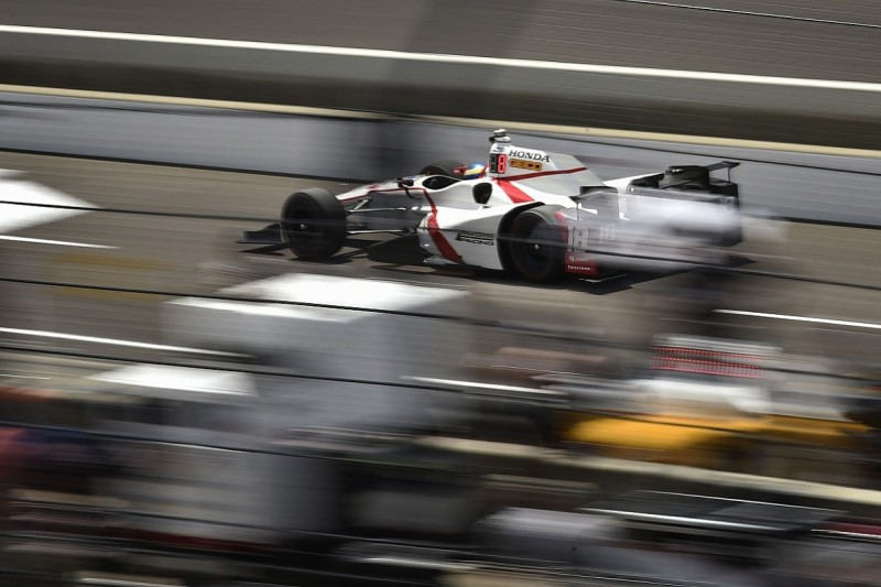 Indianapolis 500 practice interrupted by weather with Bourdais top