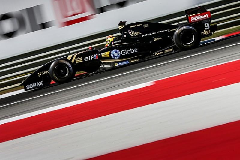 Red Bull Ring FR3.5: Lotus protege Vaxiviere edges F1 racer Merhi