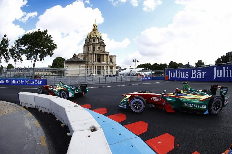 Formula E: Lucas Di Grassi tops practice in Paris